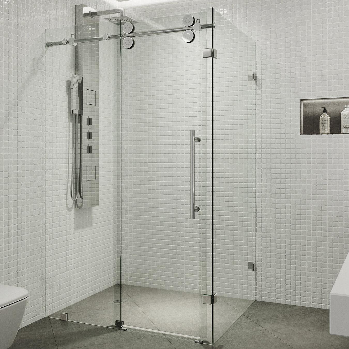 Vigo Winslow 465 X 74 Rectangle Sliding Shower Enclosure