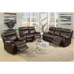 A&J Homes Studio Mildred 3 Piece Living Room Set