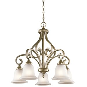 Bretton 5-Light Shaded Chandelier