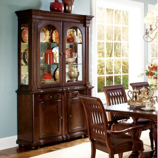 Belmont Lighted China Cabinet