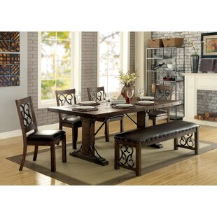 Knaresborough 6 Piece Breakfast Nook Dining Set Great price