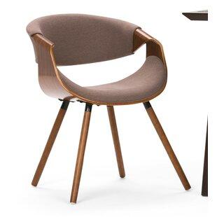 Prewitt Bentwood Upholstered Dining Chair