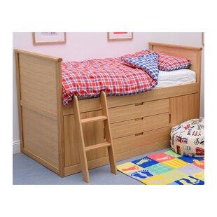 Tanner Single Mid Sleeper Bed by Viv   Rae