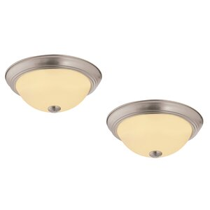 Forestville 1-Light LED Flush Mount (Set of 2)