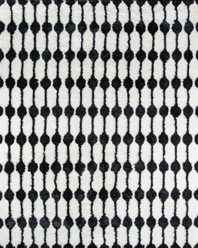 nice black white rug. Stockings Hand Tufted Black White Area Rug Novogratz By Momeni
