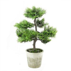 decorative artificial japanese bonsai tree in pot