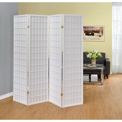 Ebern Designs Miconi 4 Panel Room Divider
