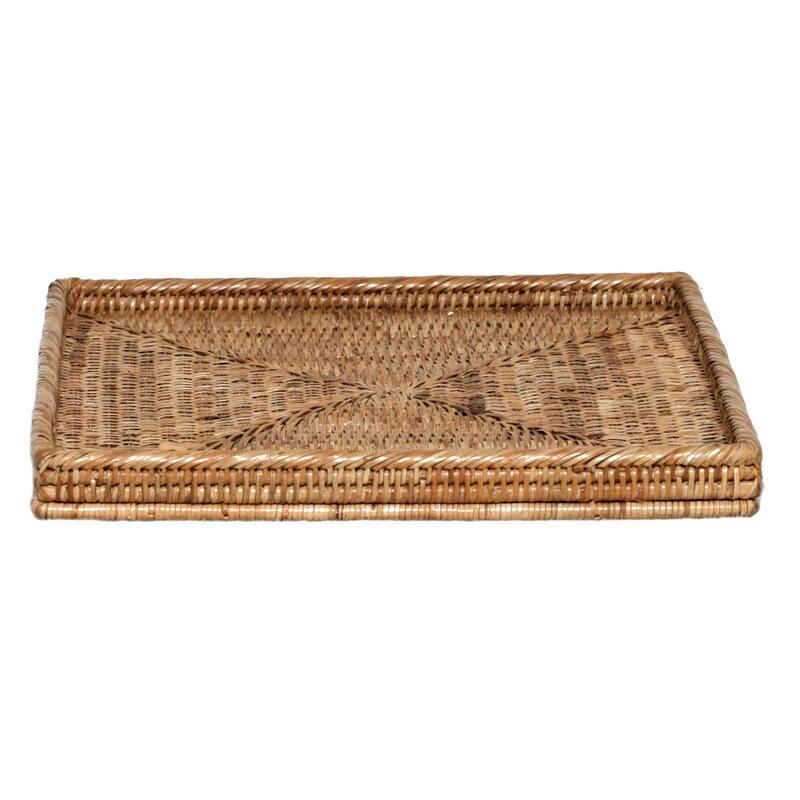 Rattan Square Tray Basket