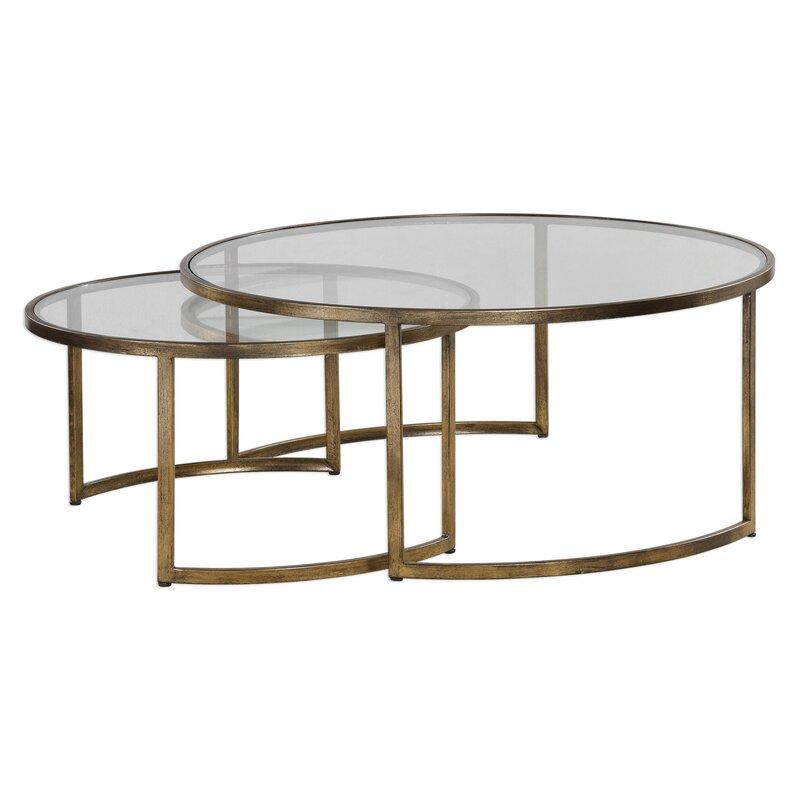 Nicklas 2 Piece Coffee Table Set