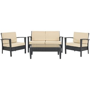 Cade 4 Piece Deep Seating Group Set With Cushion Part 76