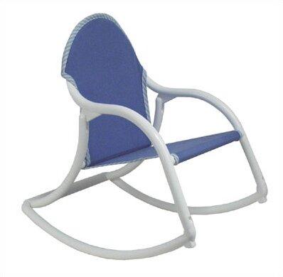 Charmant Hoohobbers Denim Canvas Personalized Kids Rocking Chair U0026 Reviews | Wayfair