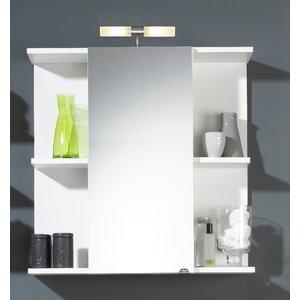 68 cm x 68 cm Spiegelschrank mit Beleuchtung von Belfry Bathroom