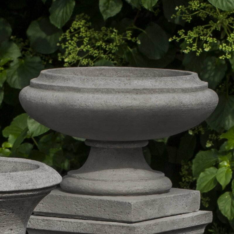 Darby Home Co Nick Round Cast Stone Urn Planter Amp Reviews