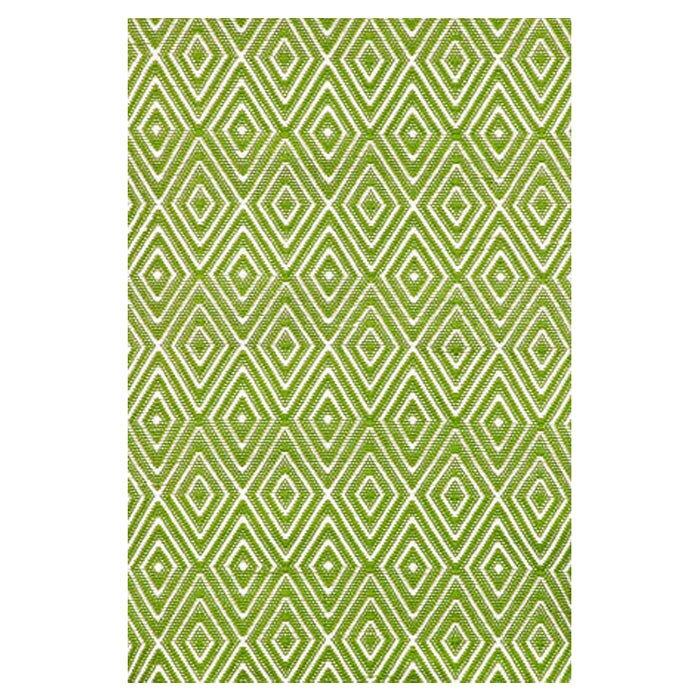 Dash and Albert Rugs Hand Woven Green Indoor/Outdoor Area Rug ...