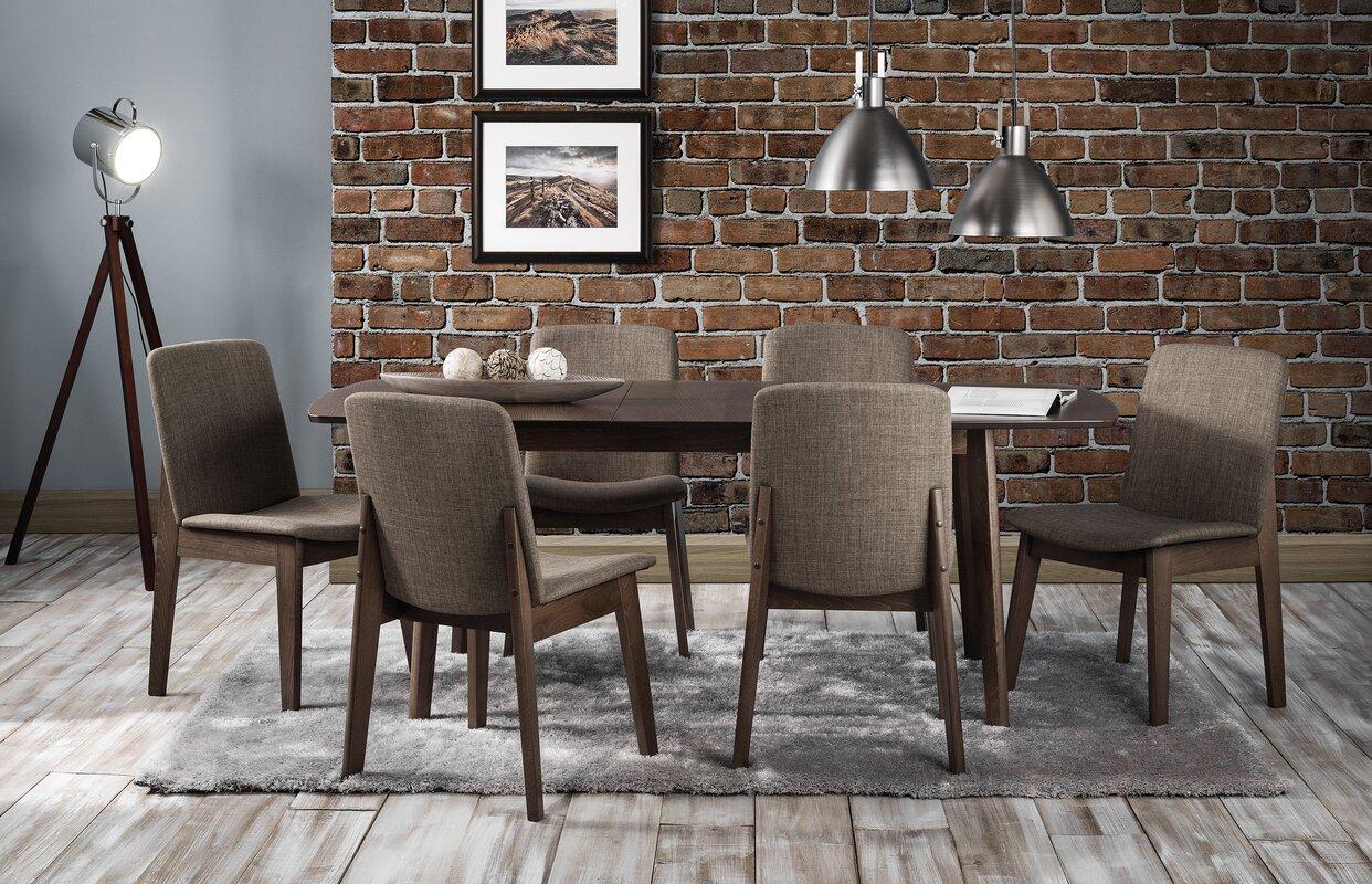 scanmod design essgruppe tahquitz mit ausziehbarem tisch und 6 st hlen bewertungen. Black Bedroom Furniture Sets. Home Design Ideas