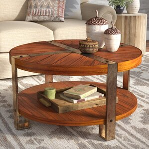 Gallatin Round Coffee Table by Loon Peak