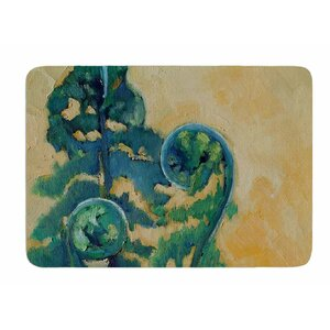 Fiddleheads by Carol Schiff Bath Mat