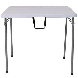 Bi Fold 34u0027u0027 Square Folding Table