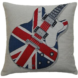Union Jack Electric Guitar Scatter Cushion Good Ideas