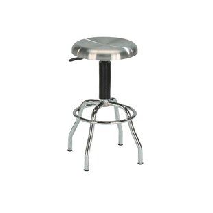Glaucia Adjustable Height Swivel Bar Stool