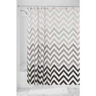 Gray Ombre Shower Curtain