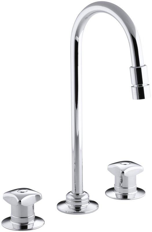 K-7304-KE-CP Kohler Triton Widespread Commercial Bathroom Sink ...