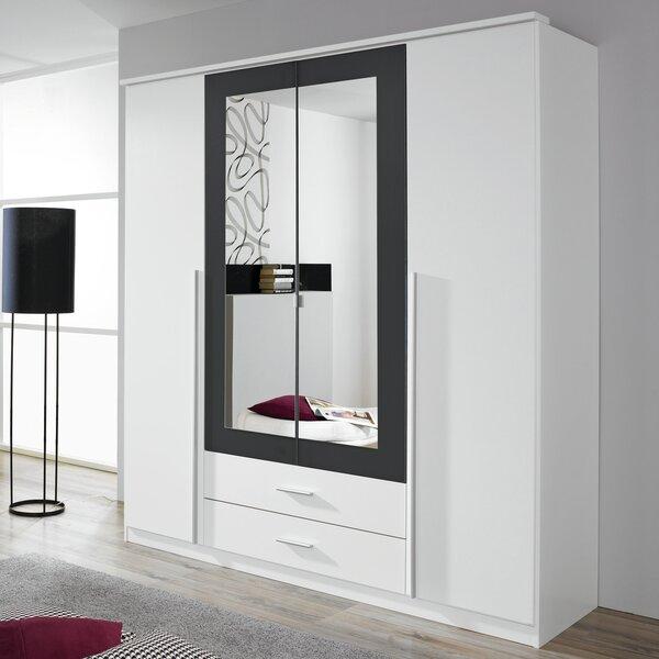 Rauch Krefeld 4 Door Wardrobe Amp Reviews Wayfair Co Uk