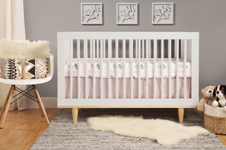 Baby Mod Marley 3 In 1 Convertible Crib U0026 Reviews | Wayfair