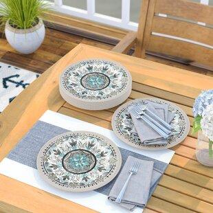 Renner 10.5\  Dinner Plate (Set of 6) & Dinner Plates You\u0027ll Love   Wayfair