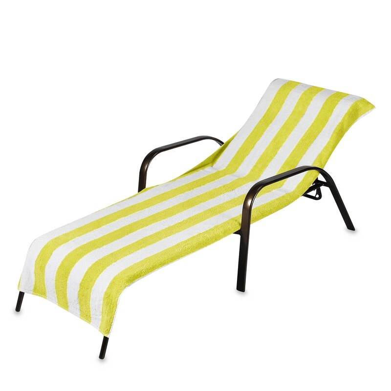 Sweet home collection chaise lounge cover reviews wayfair for Chaise lounge cover towel