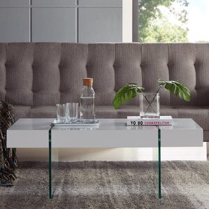 Donquez Rectangular Coffee Table by Orren Ellis