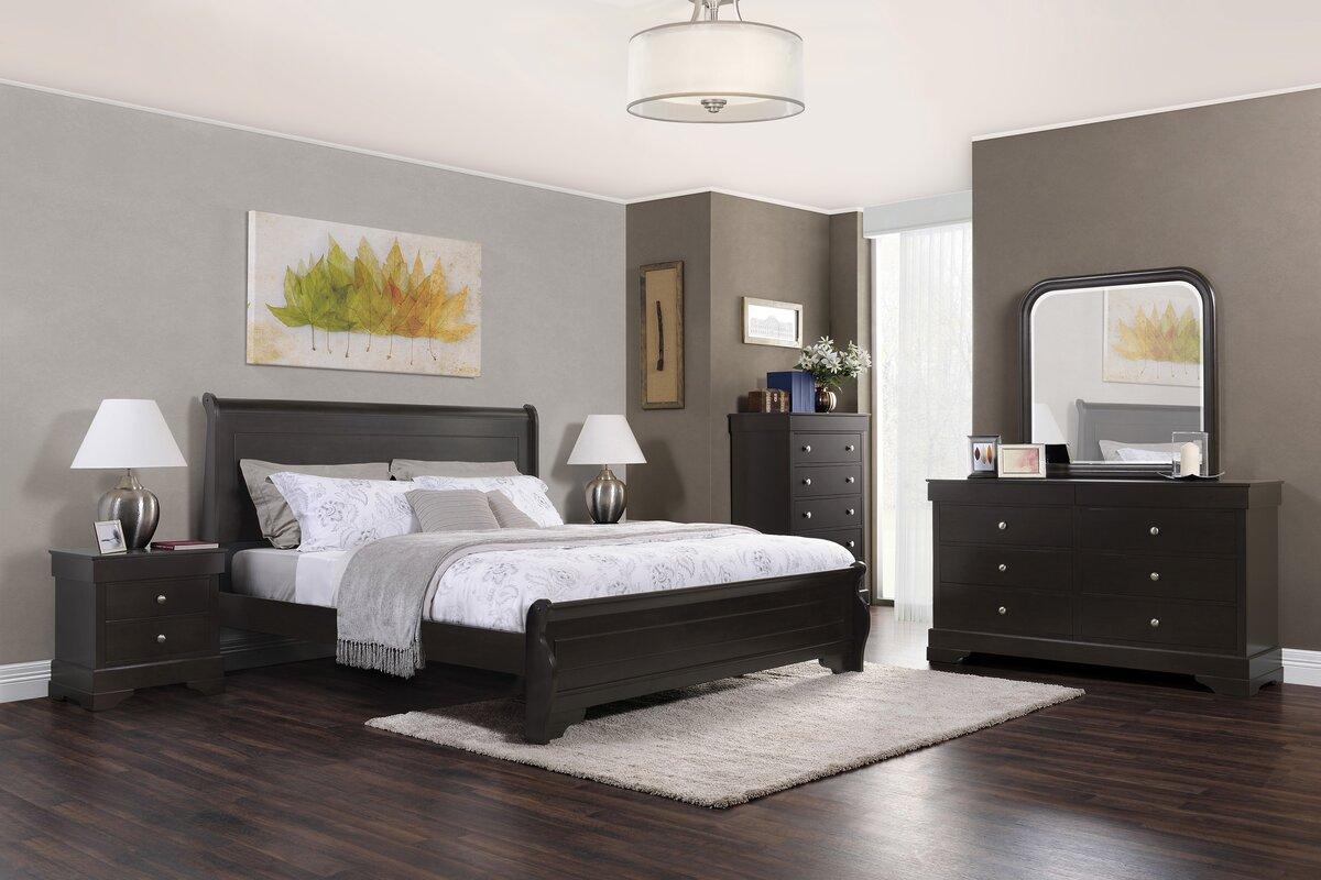 Domus Vita Design Manhattan Platform Configurable Bedroom Set ...