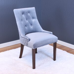 Bernyce Velvet Parsons Chair (Set of 2) by Willa Arlo Interiors