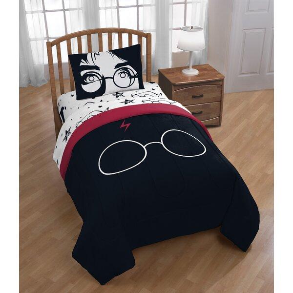 Warner Brothers Harry Potter Always 4 Piece Reversible Comforter Set |  Wayfair