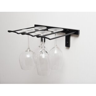 Stemware Wall Mounted Wine Gl Rack