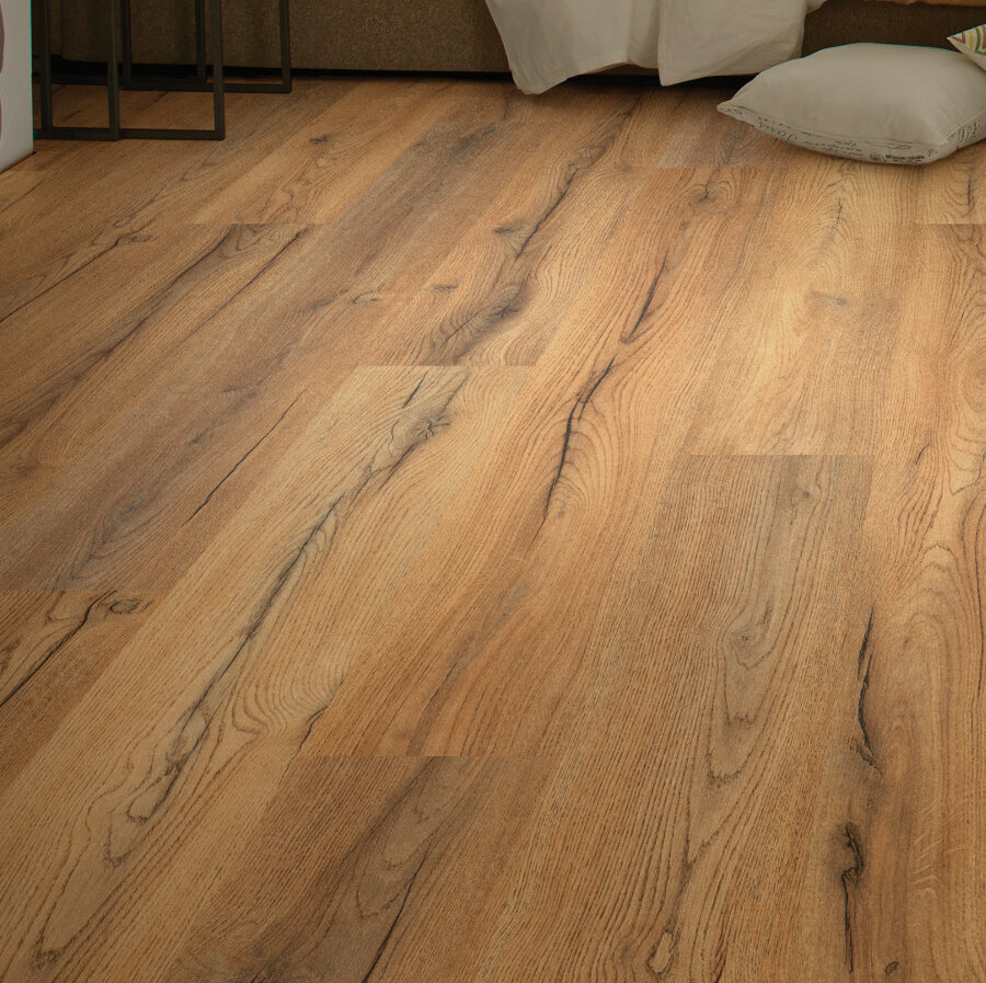 Shaw Floors Sandscapes 8 X 54 X 6mm Laminate Flooring In Linen