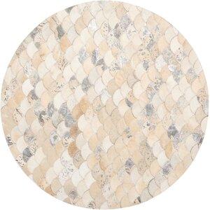Mondrian Beige/Gray Area Rug