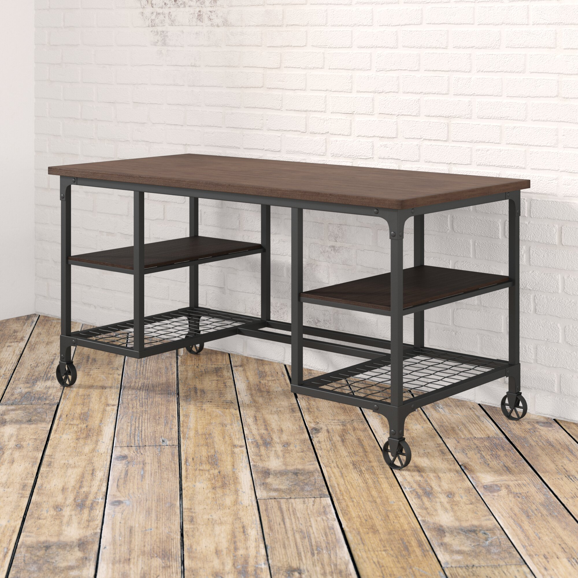 Enjoyable Rocklin Solid Wood Desk Download Free Architecture Designs Scobabritishbridgeorg