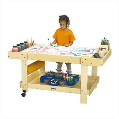 Creative Caddie Kids Arts And Crafts Table