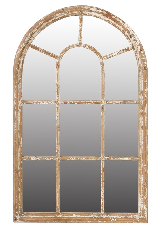 Arch Wall Mirror laurel foundry modern farmhouse arch/crowned top wall mirror