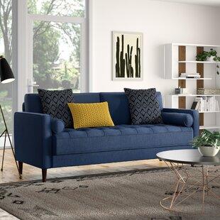 Deep Blue Sofa | Wayfair