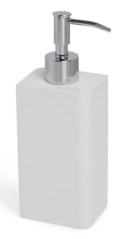 Lacca Collection Bath Accessories Soap  Lotion Dispenser Kassatex