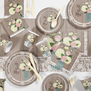 Bridal Shower Paper Plates | Wayfair