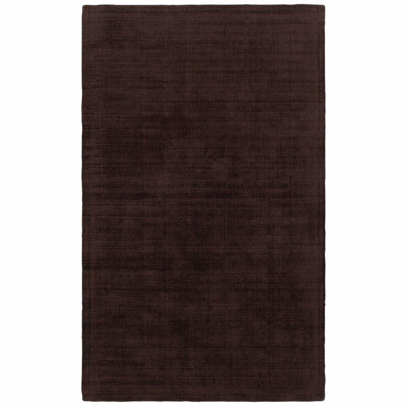 Alcott Hill Grimes Plush Hand-Tufted Purple Area Rug, Size: Rectangle 8 x 10
