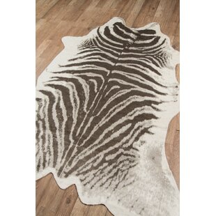 Grey Zebra Print Rug Wayfair