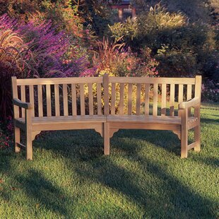 Curved Outdoor Benches Wayfair