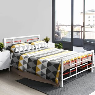 Double Bed Frame No Headboard Wayfair Co Uk
