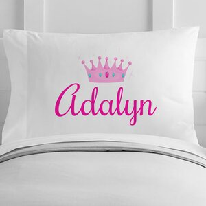 Personalized Princess Toddler Pillow Case