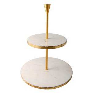 Old Hollywood Tiered Stand  sc 1 st  AllModern & Modern Cake + Tiered Stands | AllModern
