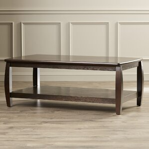Leroy Coffee Table in Cappucino by Charlton Home